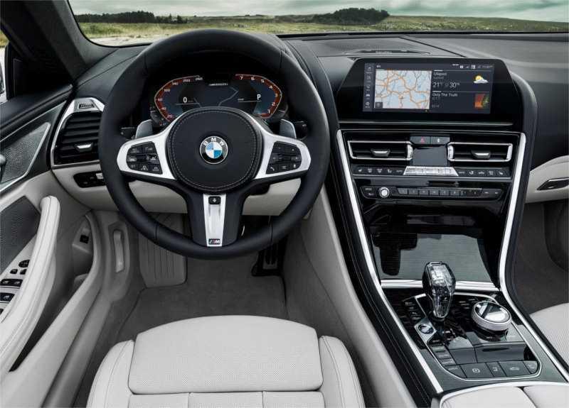 BMW 8-Series Convertible 2019 рулевое колесо