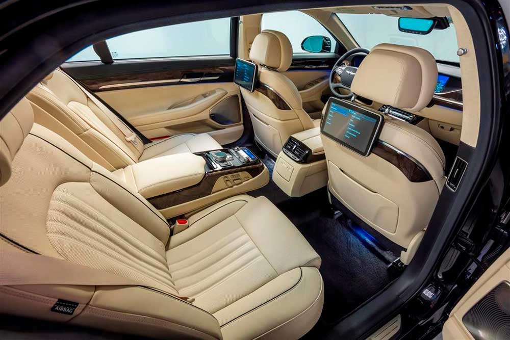 Hyundai Genesis 2019 года: обзор, фото, цена, технические данные.