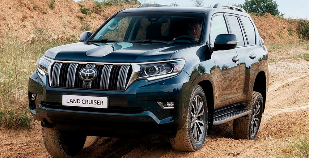 Toyota Land Cruiser Prado 2019 года: фото, видео, цена.