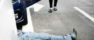 Пешеход бросился под машину что грозит водителю и что делать