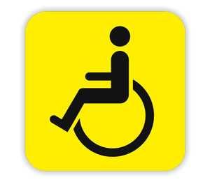 Знак инвалидности на автомобиль