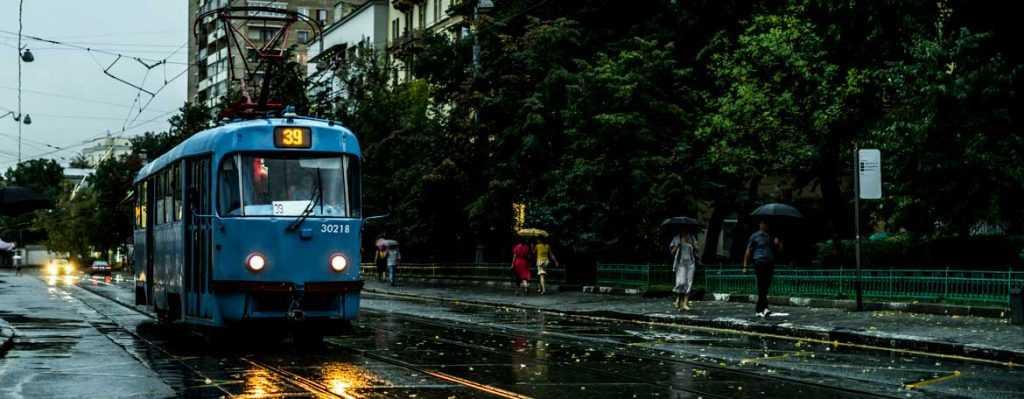 Как трамвай фиксирует нарушение пдд