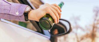 Допустимая норма алкоголя за рулем в промилле