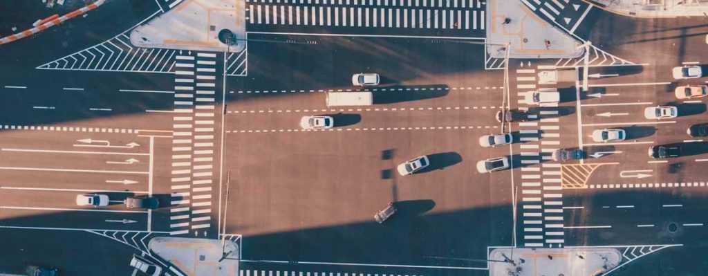 Штраф за выезд на перекресток в случае затора, на красный свет.