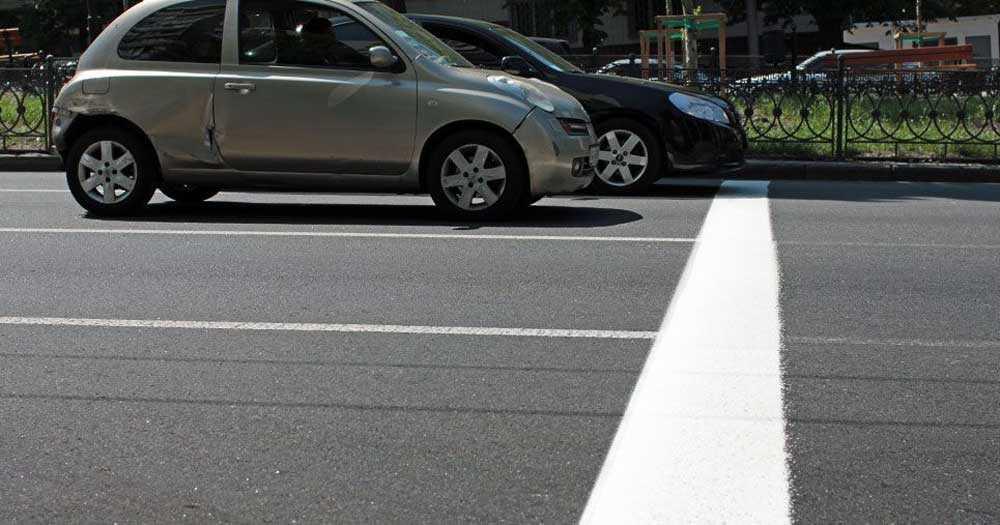 Проезд стоп линии на светофоре