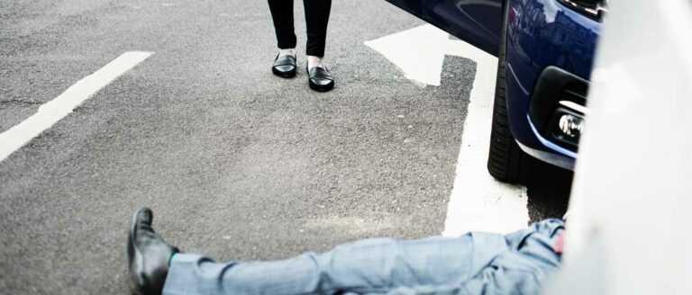 Наказание за наезд на пешехода на пешеходном переходе