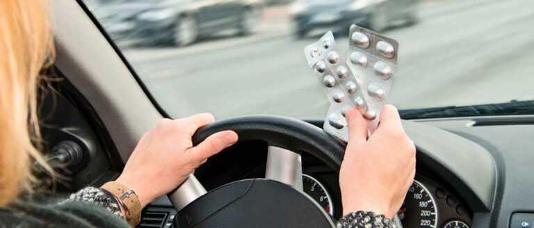 Лекарства запрещённые при вождении автомобиля